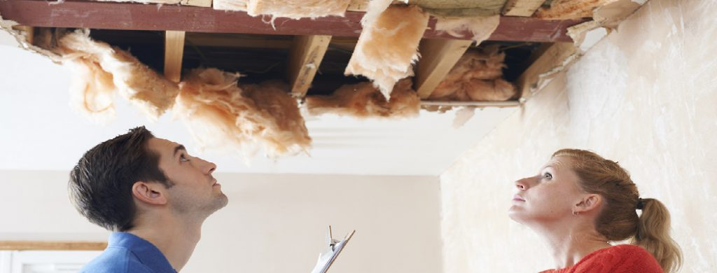 Repairing a Water Damaged Ceiling - Connected Restoration